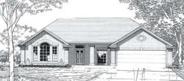 Steve Hawkins Custom Homes Ashley Plan