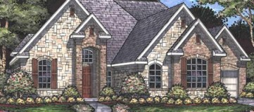 Steve Hawkins Custom Homes Balcones Plan