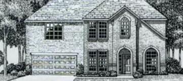 Steve Hawkins Custom Homes Bandera Plan