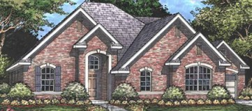 Steve Hawkins Custom Homes Bartlett Plan
