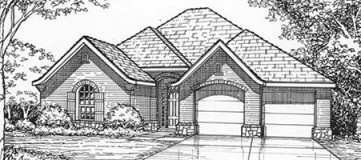 Steve Hawkins Custom Homes Bonnet Plan