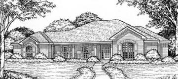 Steve Hawkins Custom Homes Canton Plan