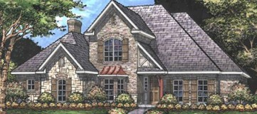 Steve Hawkins Custom Homes Capote Plan