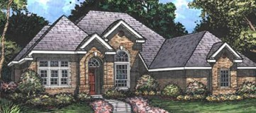 Steve Hawkins Custom Homes Cathedral Plan