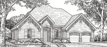 Steve Hawkins Custom Homes Coolmeadow Plan