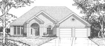 Steve Hawkins Custom Homes Covington Plan
