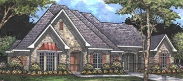 Steve Hawkins Custom Homes Davis Plan
