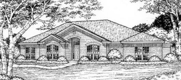 Steve Hawkins Custom Homes Elmcrest Plan