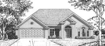 Steve Hawkins Custom Homes Fairfax Plan