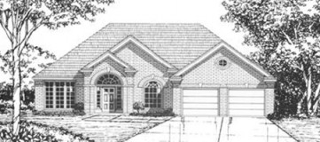 Steve Hawkins Custom Homes Fairview Plan