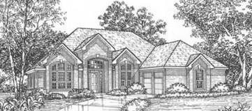 Steve Hawkins Custom Homes Fenmore Plan
