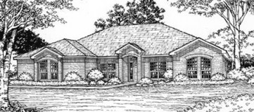 Steve Hawkins Custom Homes Glenbrook Plan