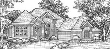 Steve Hawkins Custom Homes Grove Plan