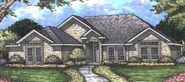 Steve Hawkins Custom Homes Guadalupe Plan