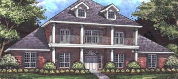 Steve Hawkins Custom Homes Hawkeye Plan