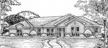 Steve Hawkins Custom Homes Lakewood Plan
