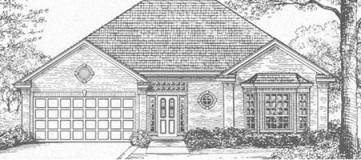 Steve Hawkins Custom Homes Llano Plan