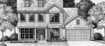 Steve Hawkins Custom Homes Maywood Plan