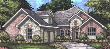 Steve Hawkins Custom Homes McKinley Plan