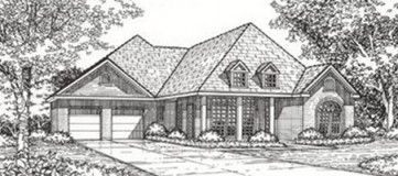 Steve Hawkins Custom Homes Medina Plan