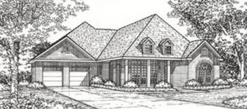 Steve Hawkins Custom Homes Medina Plan