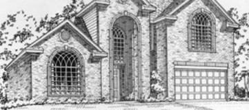 Steve Hawkins Custom Homes Newbern Plan