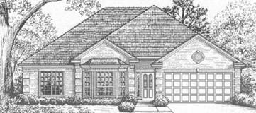 Steve Hawkins Custom Homes Oakmont 2 Plan