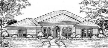 Steve Hawkins Custom Homes Overbrook Plan