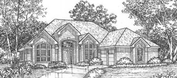 Steve Hawkins Custom Homes Pecos Plan