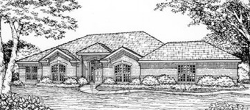 Steve Hawkins Custom Homes Randall Plan