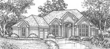 Steve Hawkins Custom Homes Rio Grande Plan
