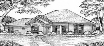Steve Hawkins Custom Homes Riverside Plan