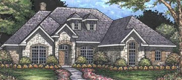 Steve Hawkins Custom Homes Shumard Plan