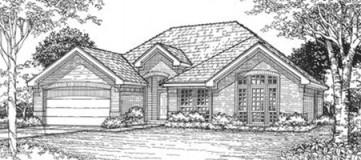 Steve Hawkins Custom Homes Sycamore 2 Plan