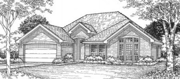 Steve Hawkins Custom Homes Sycamore Plan