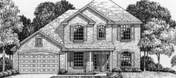 Steve Hawkins Custom Homes Tanglewood Plan