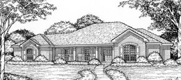 Steve Hawkins Custom Homes Teakwood Plan