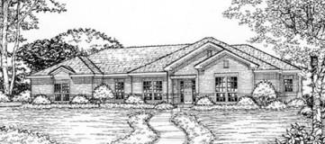 Steve Hawkins Custom Homes Trent Plan
