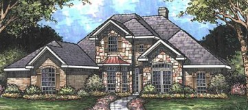 Steve Hawkins Custom Homes Victoria 2 Plan