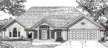 Steve Hawkins Custom Homes Yukon Plan