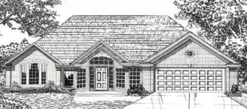 Steve Hawkins Custom Homes Yukon Plan