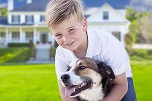steve hawkins custom homes child dog new home