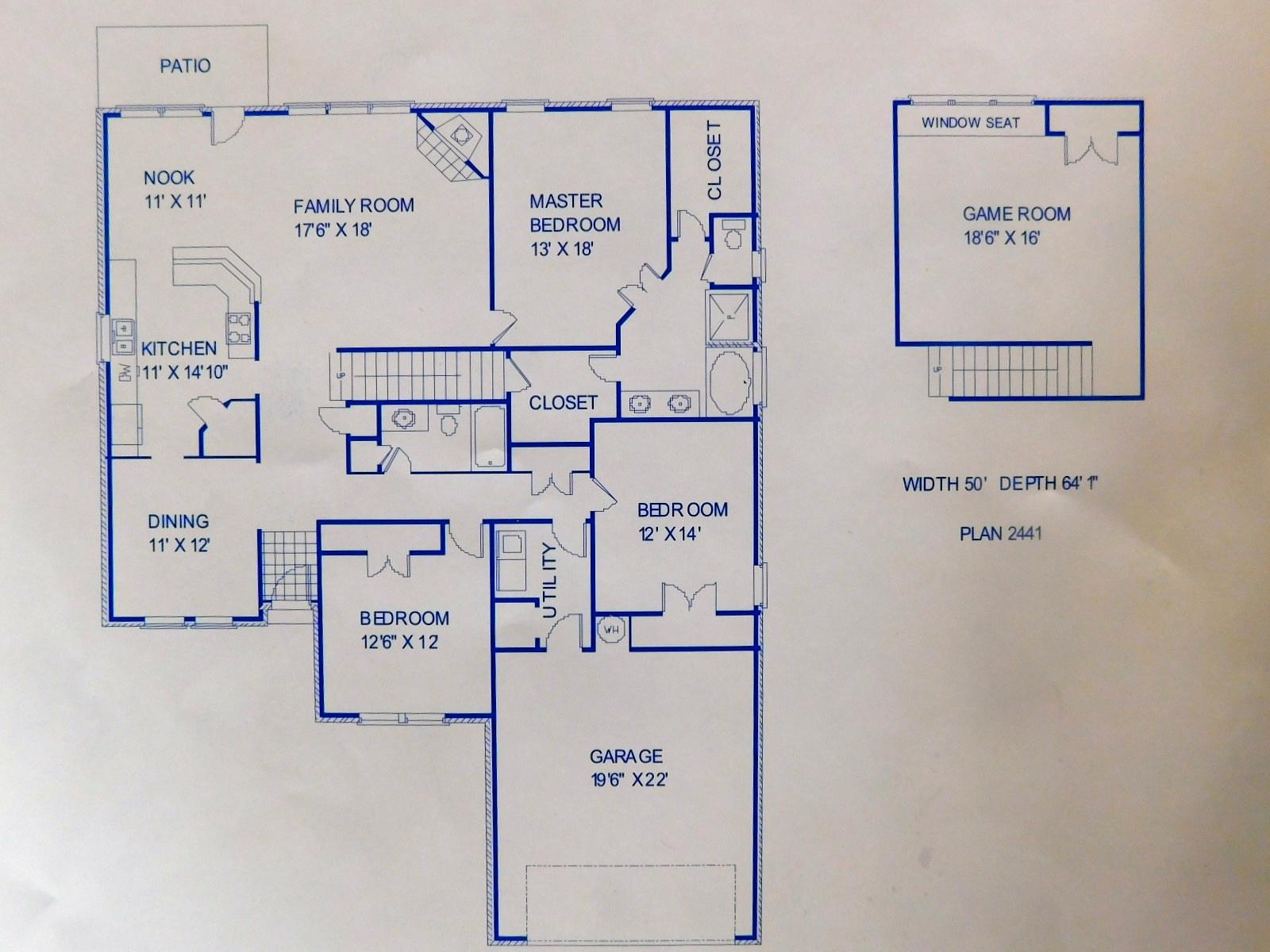 Wilshire homes shiner floor plan for Wilshire homes floor plans