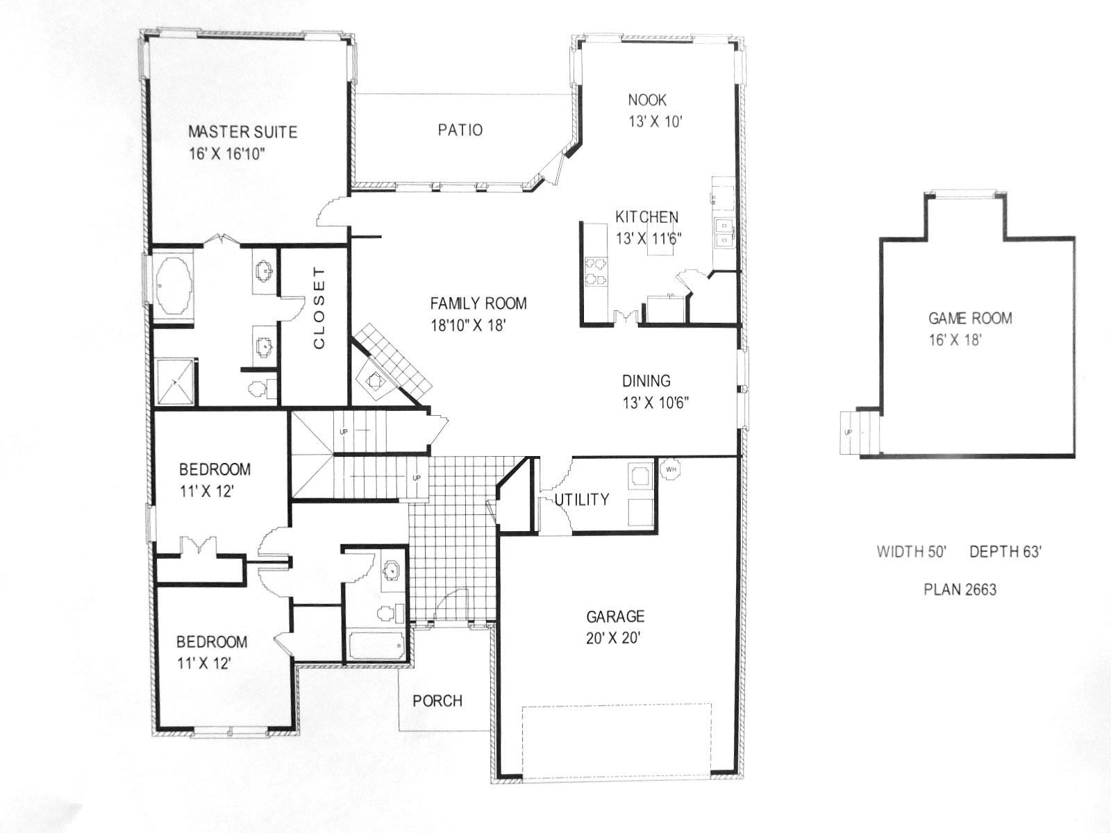 100 Wilshire Homes Floor Plans Wilshire Westfield