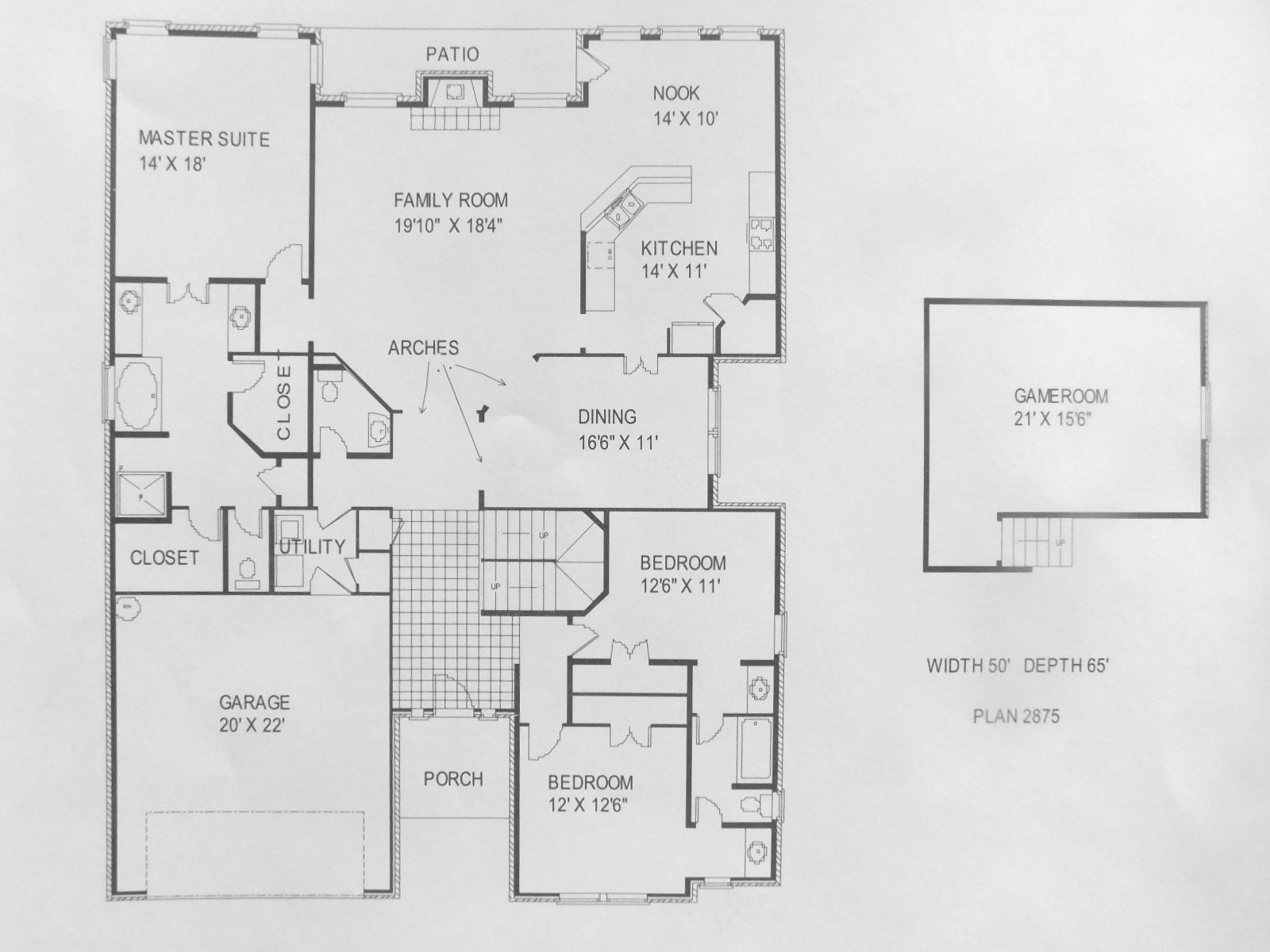 Wilshire homes logan floor plan for Wilshire homes floor plans