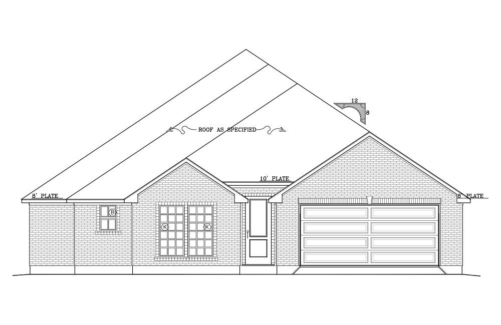 Steve Hawkins Homes Floorplan